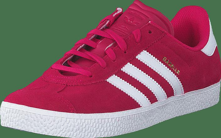 pretty nice 97fbe 72e8d authentic adidas originals gazelle 2 j bold pink white ftwr white be660  30531
