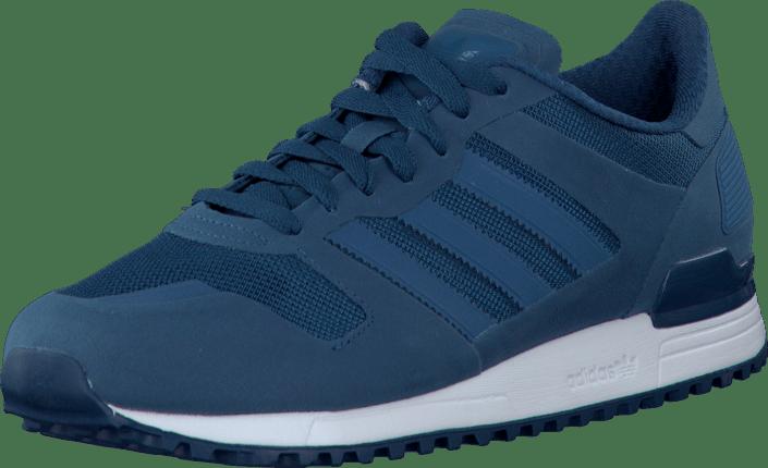 best loved 855a1 c597c adidas Originals - ZX 700 M Blue Tribe Blue Running White