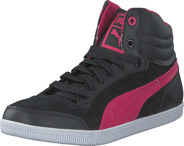 Puma - Glyde Court Jr Blk/Pink