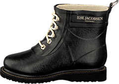 Short Rubberboot Black