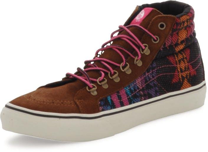 Buy Vans U SK8-HI SLIM Inca monks robe brown Shoes Online  acf47e5f3a46