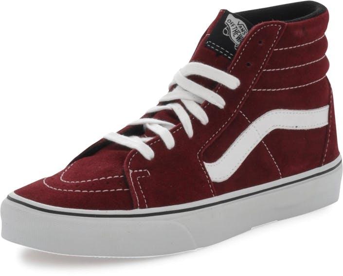 0f8d4170aaaaea Buy Vans U SK8-HI Suede Port Royal Black grey Shoes Online