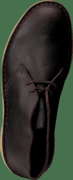 Clarks Desert Boot Black Tumb