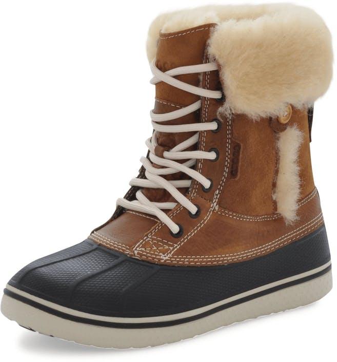 83f9f8cc8269b ... Waterproof Duck Boot Snow Boots -  Source. Crocs Allcast Luxe Duck Boot  Women Hazelnut Stucco