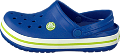 Crocband Kids Cerulean Blue-Volt Green
