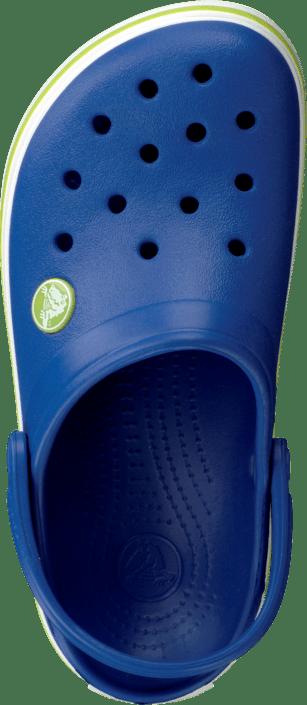 Crocband Kids Cerulean Blue-Volt Green
