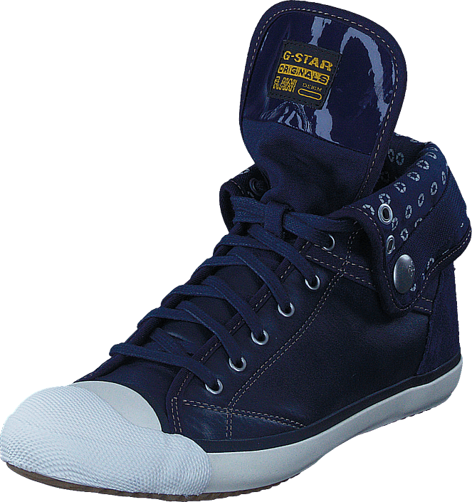 G-Star Raw - Grade II Faculty Lthr Navy Lthr & Textile