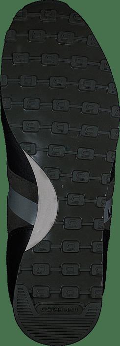 G-Star Raw - Track II Shift Combat Lthr & Suede w Black