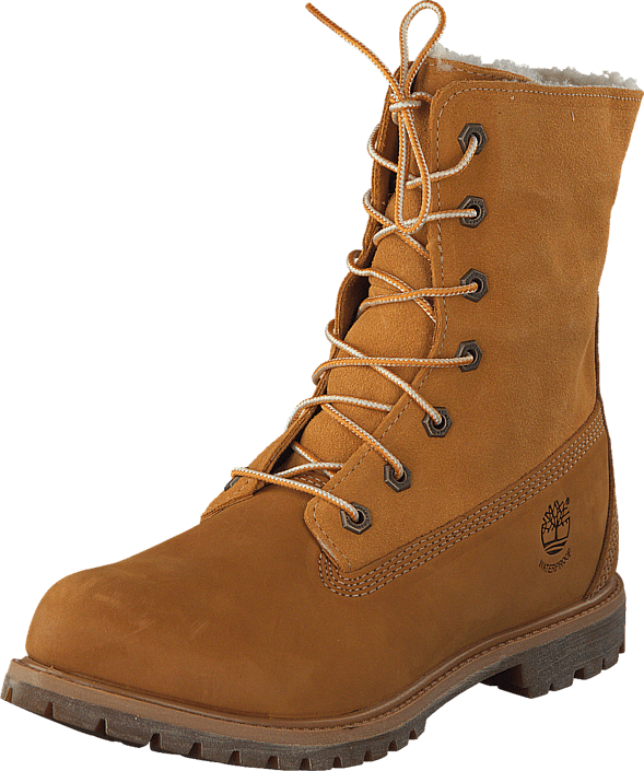 808fee61 Kjøp Timberland 8329R Authentics Teddy Fleece Wheat brune Sko Online |  FOOTWAY.no