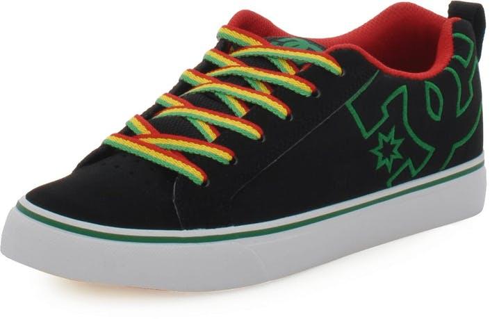Kjøp DC Shoes Court Vulc BlackRasta sorte Sko Online