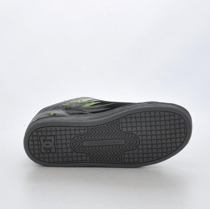 fdb73232 Kjøp DC Shoes Kids Character Black/Soft Lime sorte Sko Online ...