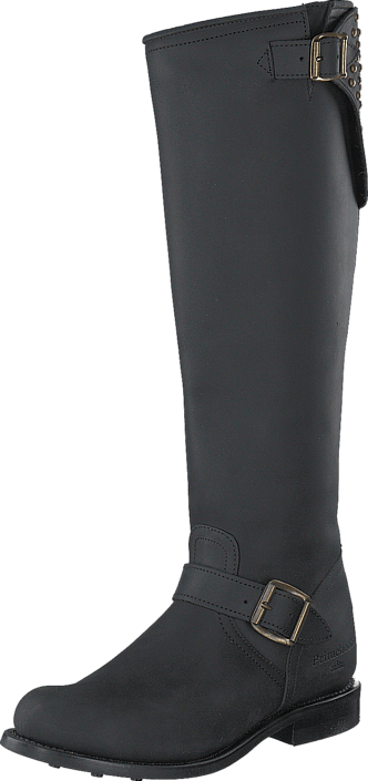 PrimeBoots - Elviria High Old Crazy Black
