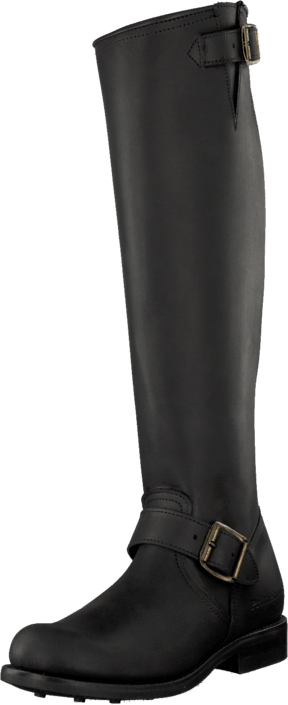PrimeBoots - Engineer High 14 Old Crazy Black