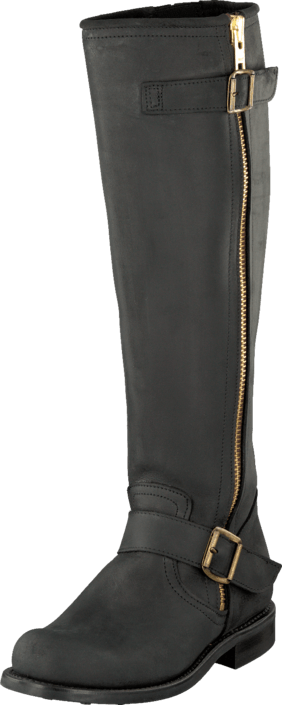 PrimeBoots - Engineer High 43 Old Crazy Black