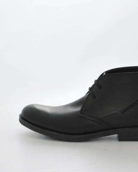 Osta Clarks Goby Hi Black Leather Mustat Kengät Online  8c6e44386e