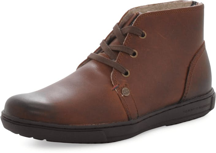 61ab14214 Buy Tommy Hilfiger Sanderson 3W Winter Cognac brown Shoes Online ...