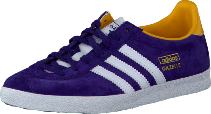 the latest f06e1 8105d adidas Originals - Gazelle Og W Dark PurpleWhiteGold