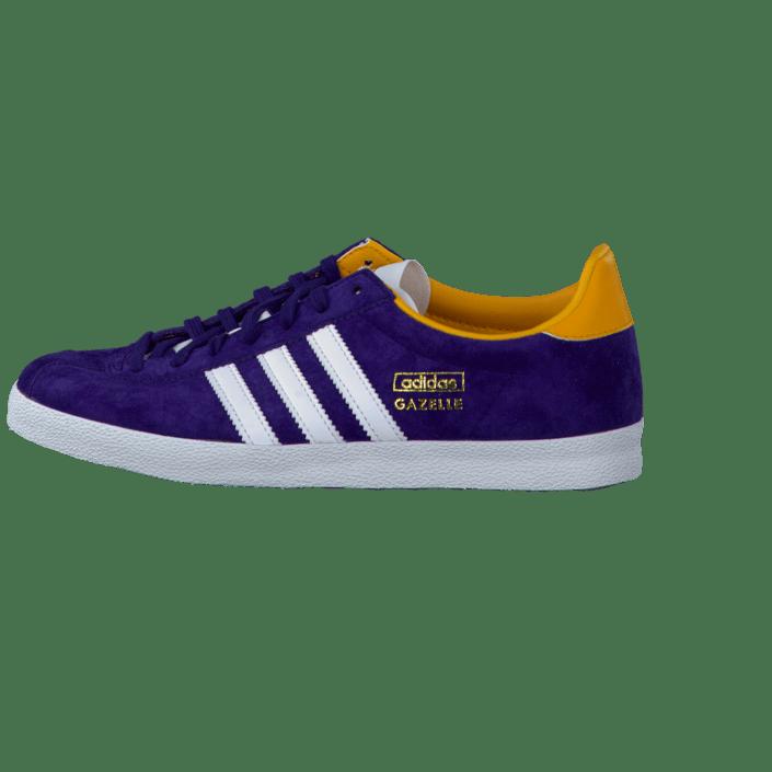 Arturo mantener Disciplina  Buy adidas Originals Gazelle Og W Dark Purple/White/Gold Shoes Online |  FOOTWAY.co.uk