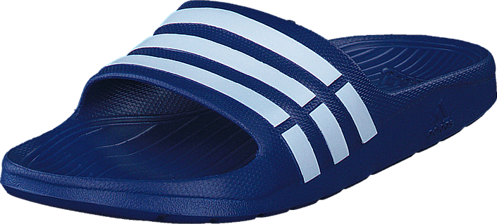 adidas originals duramo slide-bleu