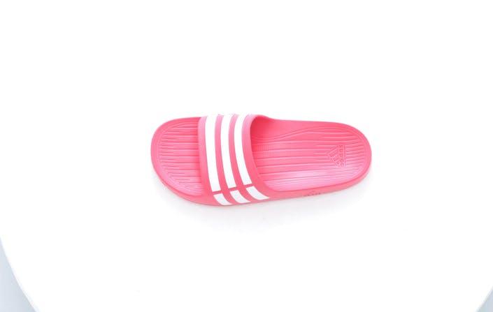 e3d03ed489a5f Buy adidas Sport Performance Duramo Slide K Blaze Pink Running White ...