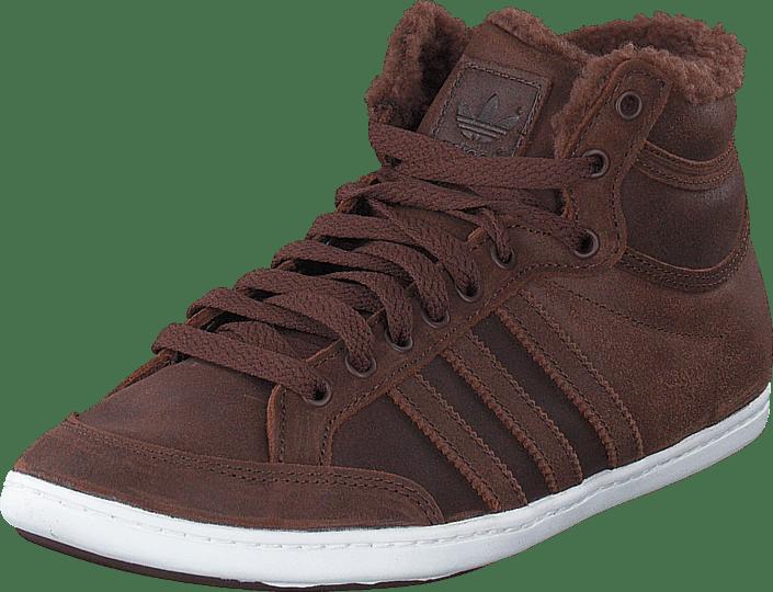 76f798da61af91 adidas Originals Plimcana Mid Fur St Auburn St Auburn braune Schuhe Kaufen  Online