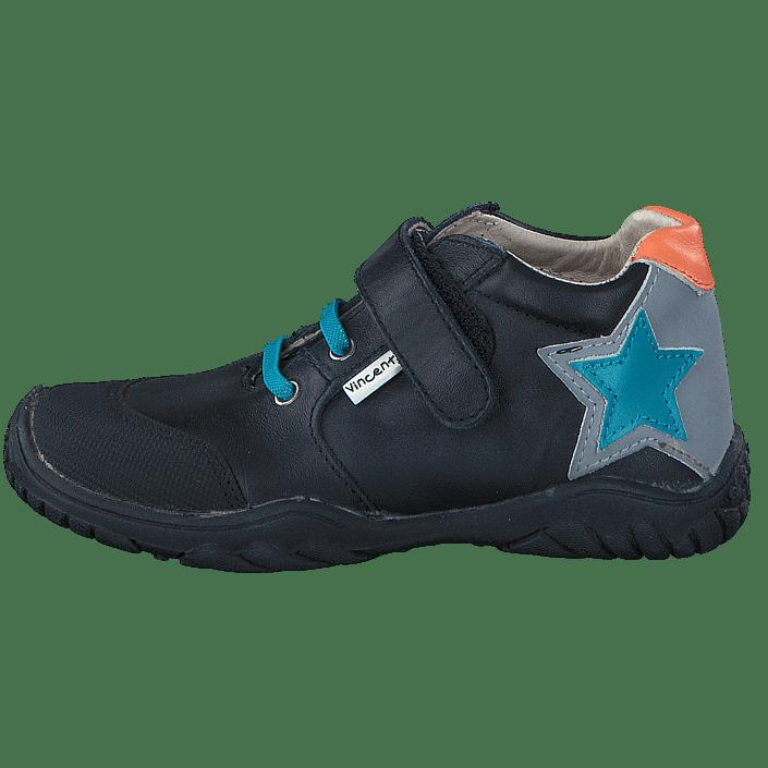 8e4bbd3e0cee Buy Vincent Albert Star Black turquoise Shoes Online