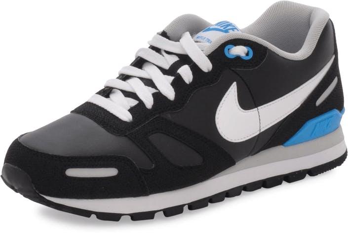 wholesale dealer 80056 904a6 Nike - Air Waffle Trainer Leather Blackwhite-Blue