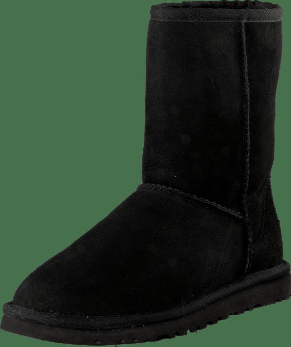 ugg boots Classic short svart