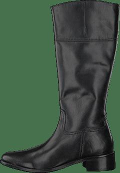 Svarta skinn stövlar, märke Vagabond in 165 73 Hässelby