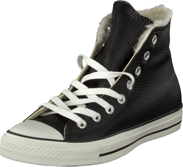 Converse All Star Shearling shoes black white