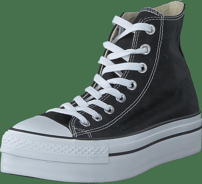 Sko Online Køb 24361 Sneakers Og 00 Platform Sportsko Converse Wmns Blå Black As Hi 08Uxrw0