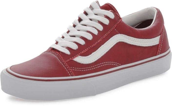 2ab38971bf Buy Vans Old Skool (Leather) Tibetan Red grey Shoes Online