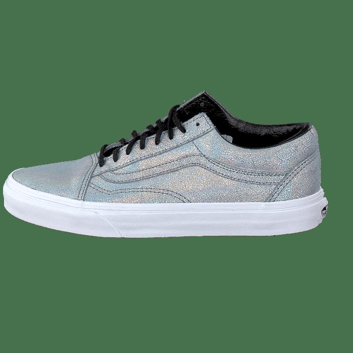 daba319979 Buy Vans Old Skool (Matte Iridescent) Silver blue Shoes Online ...