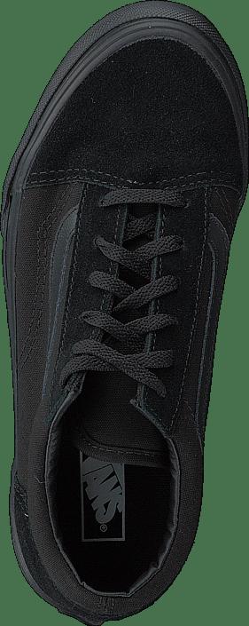 Acheter Vans Skool Old Skool Vans Blk/Blk Noires Chaussures Online 66c2de