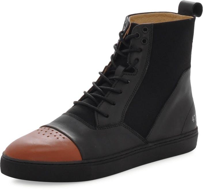 Gram - 470g Black Full Grain Leather