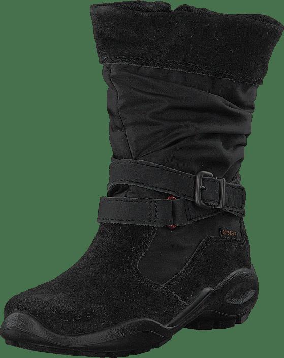 Sko Ecco Online Cut Zip Winter Mid Queen Kjøp Sorte Boots Black ZPCqHw66