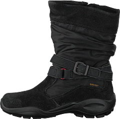 5c8d1e853b7 Ecco - Winter Queen Mid Cut Zip Black