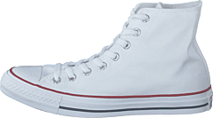 new product b4154 0965d Converse - All Star Canvas Hi Optical White