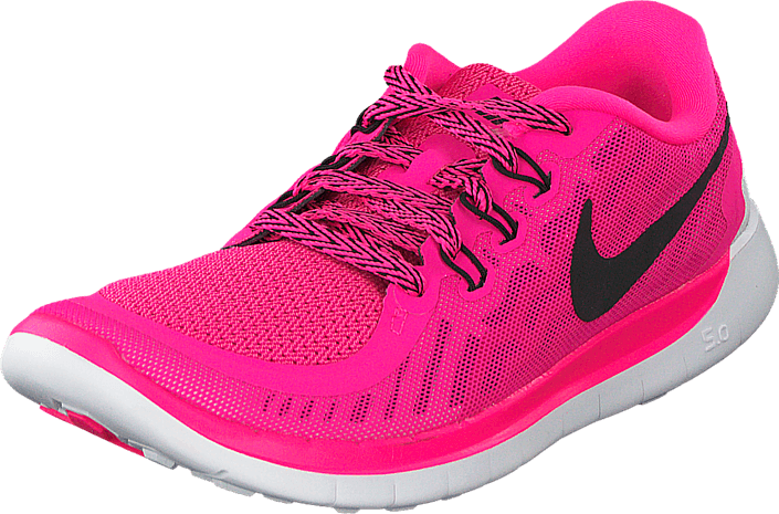 c13a692413cd Køb Nike Nike Free 5.0 (Gs) Pink Pow Black-Vivid Pink-Wht lyserøde ...