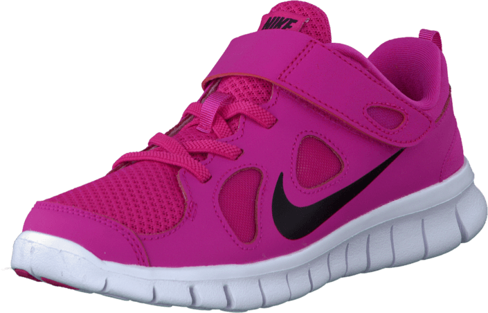 premium selection 37dee 193aa Nike - Nike Free 5.0 (Psv) Vivid Pink Black-White