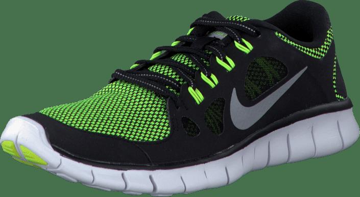 Osta Nike Nike Free 5.0 Le (Gs) Black Metallic Silver-Volt mustat ... 1c8bf35011