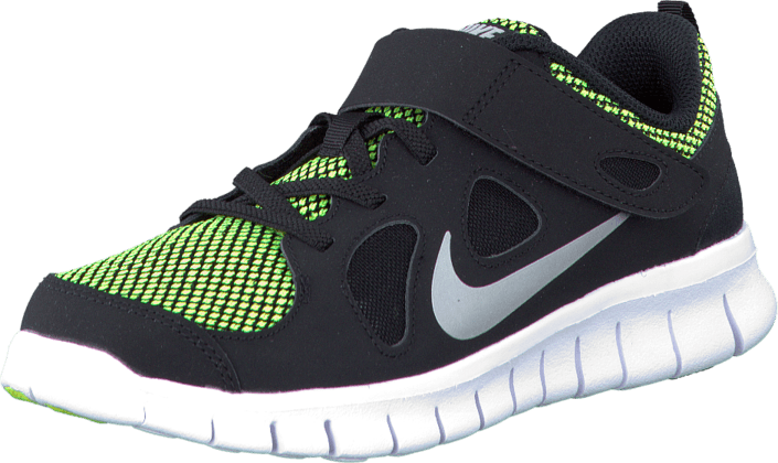 newest aa90f 4cc0e Nike - Nike Free 5.0 Le (Psv) Black Metallic Silver-Volt
