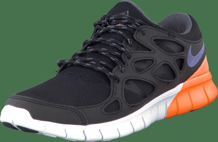 Buy Nike Nike Free Run 2 Black/Irn Prpl-White-Atmc Orng black Shoes ...