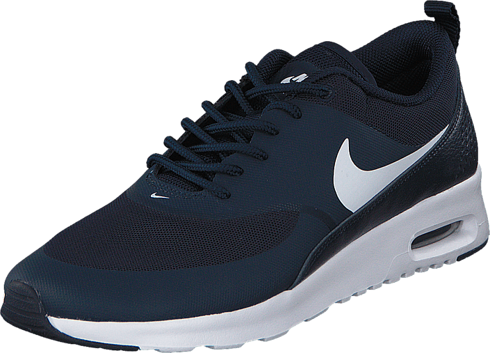 huge discount f3413 6a43e Buy Nike WMNS NIKE AIR MAX THEA Obsidian White blue Shoes Online ...