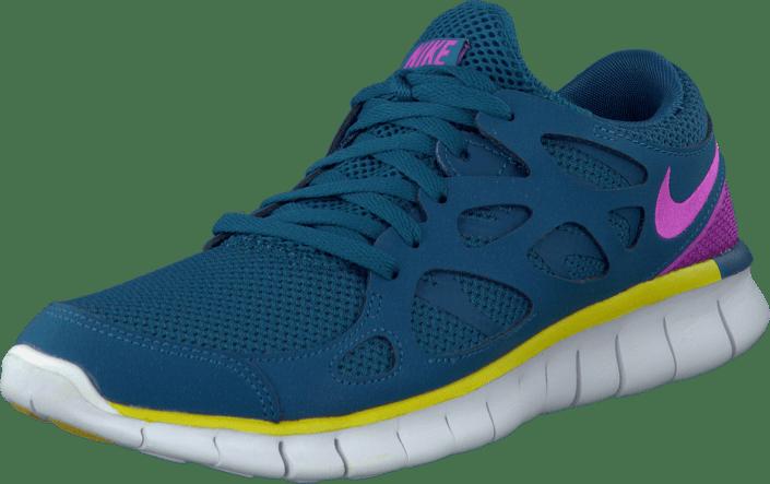 best website 224d8 328b0 Nike - Wmns Nike Free Run 2 Ext Grn Abyss Rd Vlt-Brght Ctrn