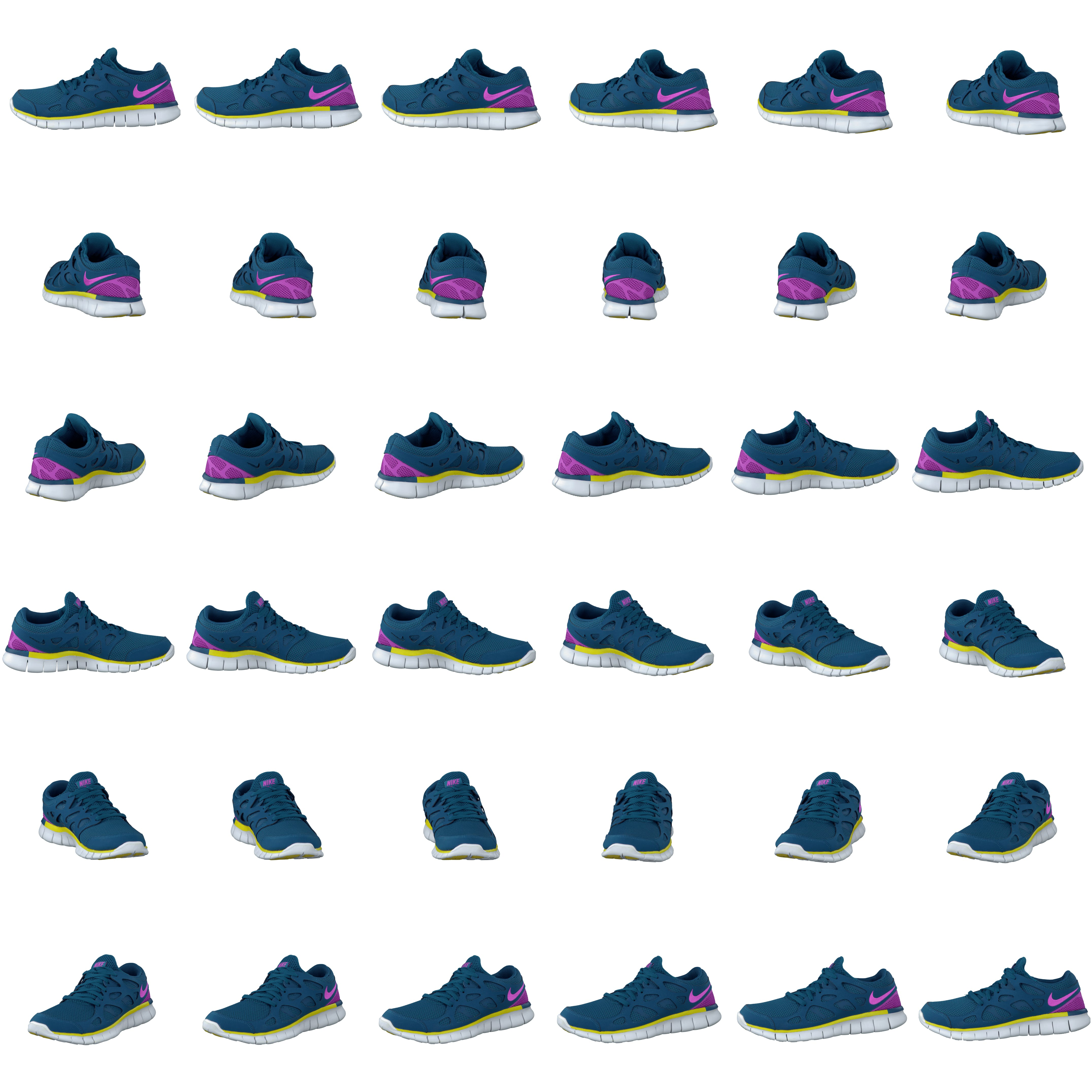 Buy Nike Wmns Nike Free Run 2 Ext Grn AbyssRd Vlt Brght