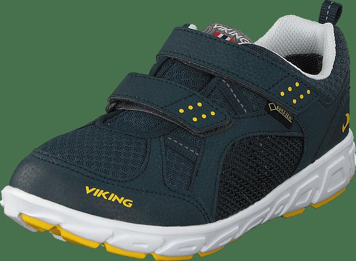 Viking - Hobbit GTX Dark Blue/Yellow