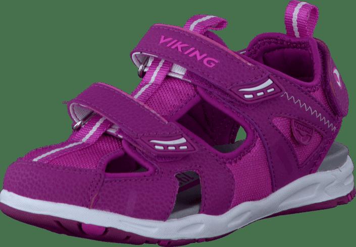 a5b436a754a Kjøp Viking Swirl II Fuchsia/Dark Pink lilla Sko Online   FOOTWAY.no