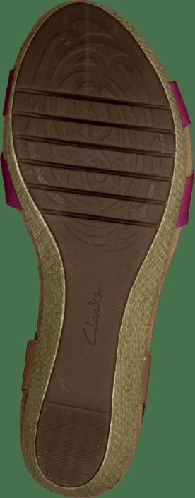 Clarks - Perfect Laugh Fuchsia Leather