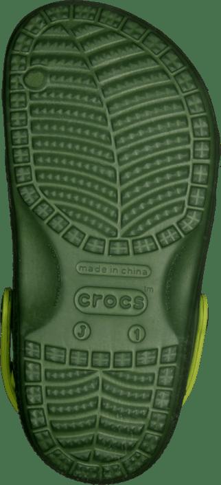 CC TMNT Clog Seaweed/Volt Green